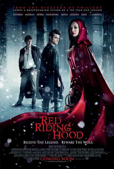 Red Riding Hood promo poster, a movie review