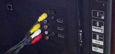 Sony Bravia Connectors