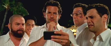 The Hangover Part II - Justin Bartha, Bradley Cooper, Zach Galifianakis Jason Lee and Ed Helms (closing scene and they have pics)