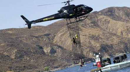 Fear Factor at Castaic Lake