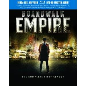 Boardwalk Empire Season one on Blu-ray