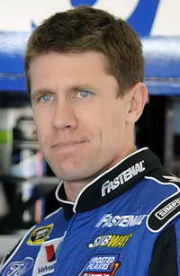 Carl Edwards at Daytona Preseason Thunder - Day 1