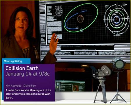 Collision Earth on Syfy