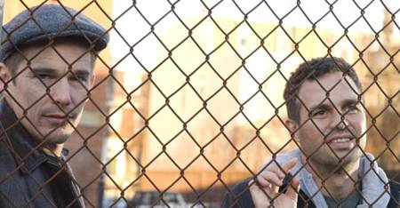 Ethan Hawke and Mark Ruffalo in What Doesn't Kill You