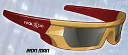 Iron Man RealD 3D Glasses