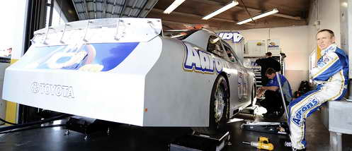 Mark Martin at Daytona Preseason Thunder - Day 1