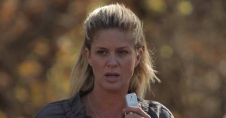Rachel Hunter in Swamp Volcano AKA Miami Magma, on Syfy