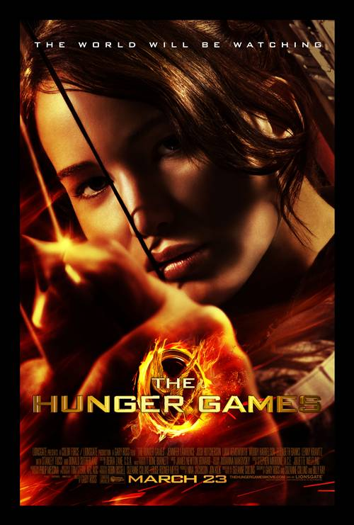 The Hunger Games Final Movie Poster - Katniss Takes Aim