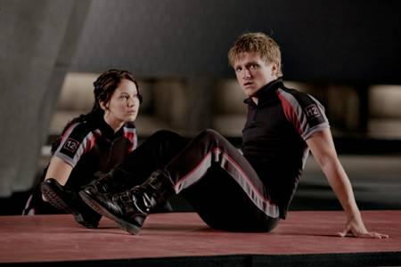 The Hunger Games movie still - training time