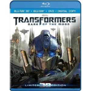 Transformers 3 on 3D Blu-ray