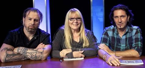 Face Off judges Glenn Hetrick, Ve Neill, and Patrick Tatopoulos