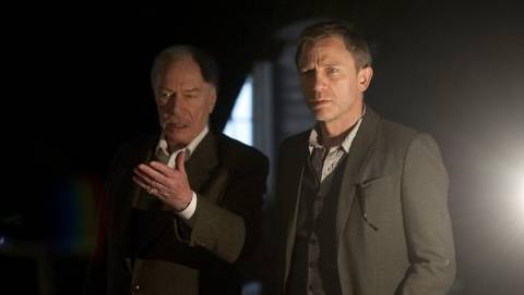 Christopher Plummer and Daniel Craig in 'The Girl with the Dragon Tattoo'