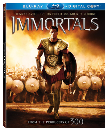 Immortals Blu-ray Giveaway Contest