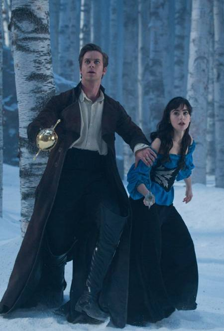 'Mirror Mirror' Armie Hammer and Lily Collins