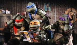 "Donatello: ""OMG!  Now we're space aliens!!!???"""