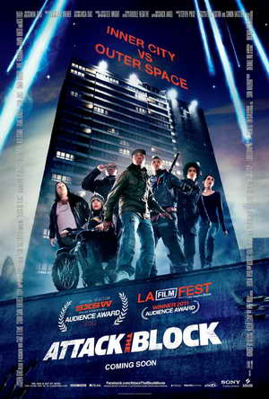 'Attack the Block' movie poster (movie review)
