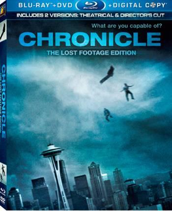 'Chronicle' Blu-ray box art