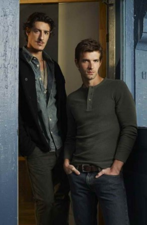 Eric Balfour and Lucas Bryant in 'Haven'