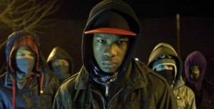 Franz Drameh, Alex Esmail, Leeon Jones and John Boyega in 'Attack the Block'