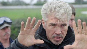 Gary Ross directing 'Seabiscuit'