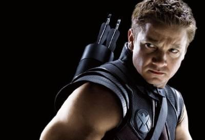 Hawkeye in The Avengers