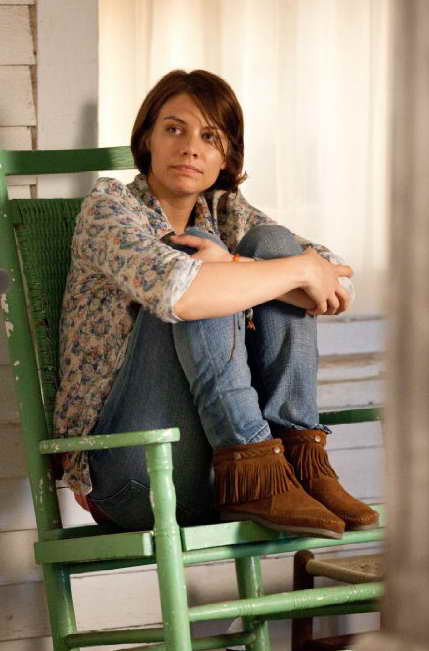 Lauren Cohan as Maggie on 'The Walking Dead'