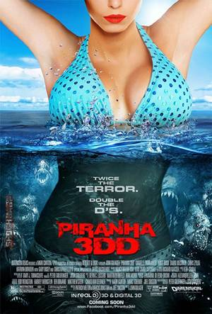 'Piranha 3DD' and all the Double D Fun one can have!