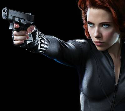 The Black Widow in The Avengers