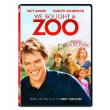 'We Bought a Zoo', DVD and Blu-ray