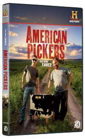 American Pickers Vol 3 DVD