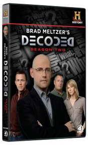 Brad Meltzer Decoded season 2 on DVD