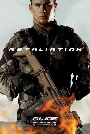 Channing Tatum in G.I. JOE RETALIATION