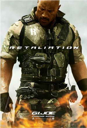 Dwayne Johnson in G.I. JOE RETALIATION - 23