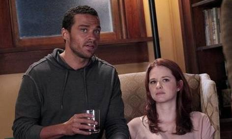 Grey's Anatomy Series Finale Review - Sarah Drew and Jesse Williams pictured