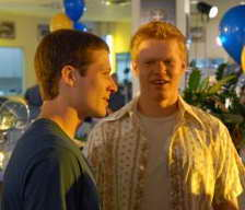 Jesse Plemons (R) and Zach Gilford in Friday Night Lights