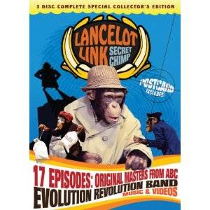 Lancelot Link Secret Chimp comes to Blu-ray