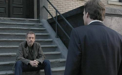 Robert Sean Leonard and Hugh Laurie in HOOUSE series finale