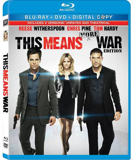 THIS MEANS WAR Blu-ray DVD movie review