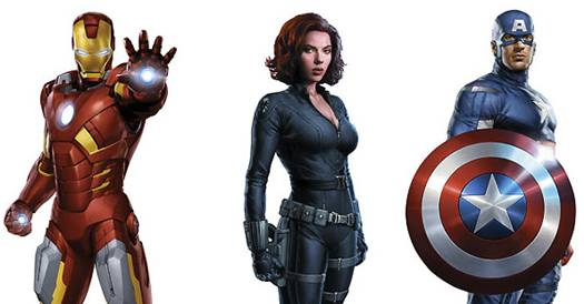 'The Avengers' box office records - Iron Man, Black Widow, Captain America