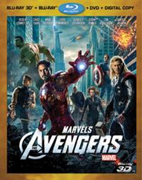 'The Avengers' on 3D Blu-ray and DVD Sept 2012