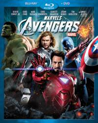 'The Avengers' on Blu-ray and DVD Sept 2012
