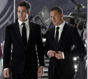 "Tom Hardy and Chris Pine in ""This Means War,"" a movie review"
