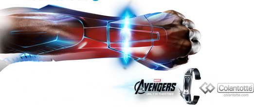 Tony Stark's Wrist Band by Collantotte