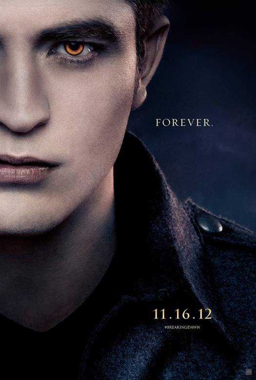 Robert Pattinson in 'The Twilight Saga Breaking Dawn' - Part 2