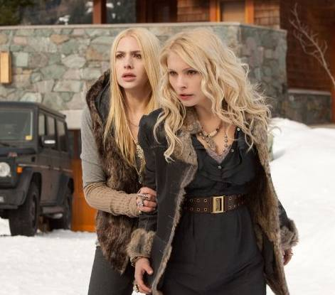 Casey LaBow and MyAnna Buring in 'The Twilight Saga Breaking Dawn' - Part 2