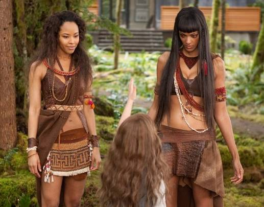 Judith Shekoni and Tracey Heggins in 'The Twilight Saga Breaking Dawn' - Part 2
