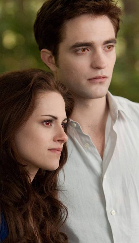 Kristen Stewart and Robert Pattinson in 'The Twilight Saga Breaking Dawn' - Part 2