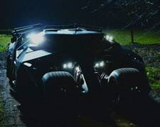 'Batman Begins' - batmobile The Tumbler