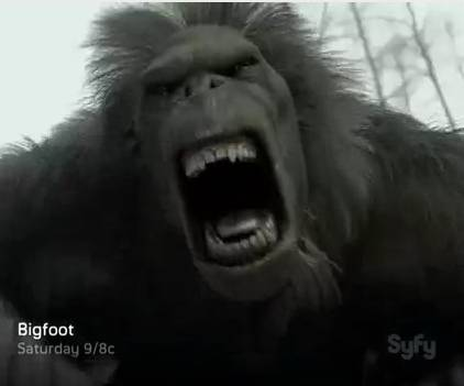 'Bigfoot' on Syfy TV review