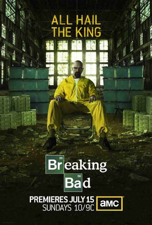 Breaking Bad season five promo art